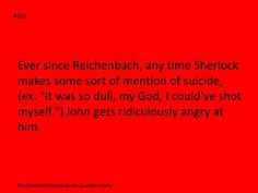 I honestly would hope that Sherlock isn't dumb enough to make statements like this...