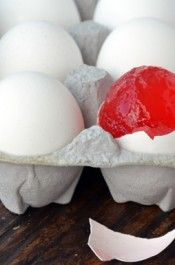 Jell-O Eggs Made Out of Real Eggs