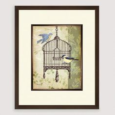 Botanical Birdcage II | World Market