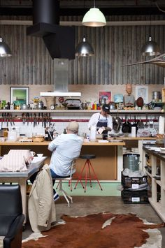 Al Brown's workspace City Works Depot Auckland | Styled Canvas -★-