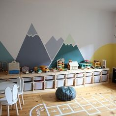45 Enchanting Kids Room Design Ideas That Will… Playroom Decor, Baby Room Decor, Playroom Layout, Pinterest Baby, Escape Room For Kids, Game Room Kids, Kids Room Design, Boy Room, Kids Bedroom