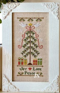 Joy * Love * Peace from Country Cottage Needleworks - click to see more