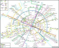 Des cartes du métro déformées pour une lecture facilitée - Sciencesetavenir.fr