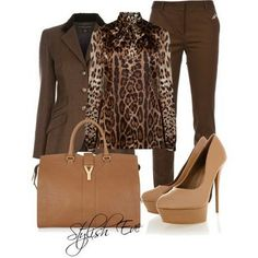 prep 101 fashion book   prep 101 fashion book / Brown Winter 2013 Outfits for Women by Stylish ...