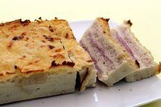 Je vous avez déjà proposé ce croque-cake au jambon/fromage, je vous le propose à nouveau mais légèrement modifié en allégeant pas mal la recette. Je suis toujours le programme Weight Watchers alors j'ai cuisiné malin pour pouvoir me faire plaisir à l'apéro....