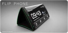 Flip phone - IDKUL - Interaction designer Kristian Ulrich Larsen