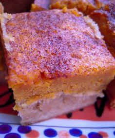 pumpkin pie/snickerdoodle bars