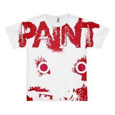 All Over PAINT Short sleeve men's t-shirt (unisex)
