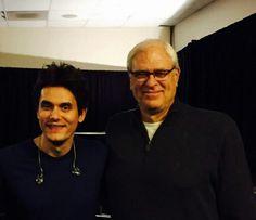 John Mayer and Phil Jackson