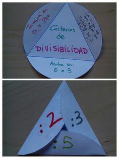 Criterios divisibilidad 2, 3, 5