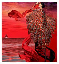"""Farewell"" by jojona-1 ❤ liked on Polyvore featuring art"