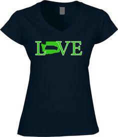 Seahawks Womens Shirt - Love