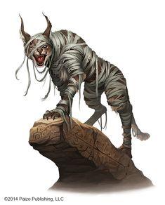 Lynx Mummy by kikicianjur.deviantart.com on @DeviantArt