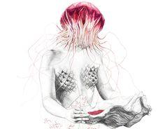 "Check out new work on my @Behance portfolio: ""Jellyfish III // Metamorfish II drawings"" http://on.be.net/1MHaON2"