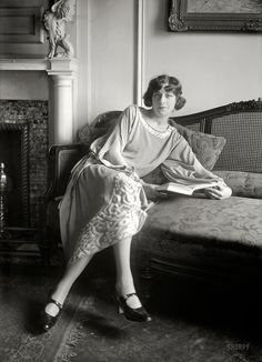 Fanny Brice.  New York circa 1922.
