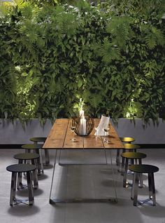 Green On In This Modern And Simple Greenwall