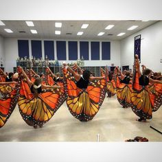 bandshoppe:  Custom uniforms designed for Campbell County HS Color Guard…