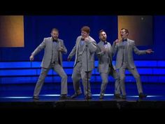 """What would the barbershop classic """"Hello My Baby"""" sound like if it were written/performed throughout the decades? The Newfangled Four provides a playful demo. Barber Shop Quartet, Baby Sounds, Hello Goodbye, Knock Knock Jokes, Much Music, Music Clips, Music Icon, Special Guest, How To Be Outgoing"""