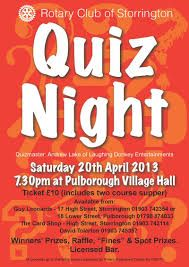 quiz night poster template free - Google Search