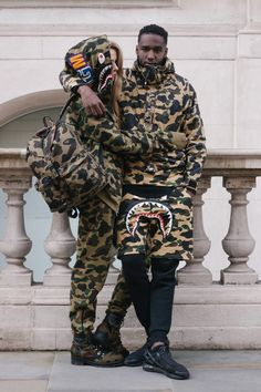 bape is highly sought after and is hard to get ahold of due to pricing and the amount of replicas on the market.