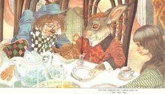 Алиса в стране чудес. Иллюстрации и картинки