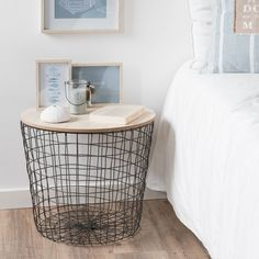 Idea for one of the bedside tables - could also store blankets in this - £29.99