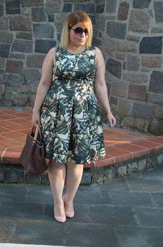 Plus Size Fashion - BARBIE XL: GREEN DRESS OUTFIT