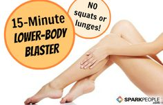 Tone Your Legs in 15 Minutes (without Squats or Lunges!) on @SparkPeople