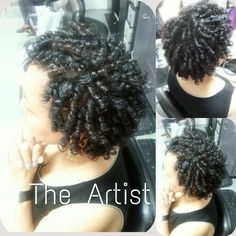 Natural Hair Rodset Done By The Artist,  Memphis: (901) 6444526