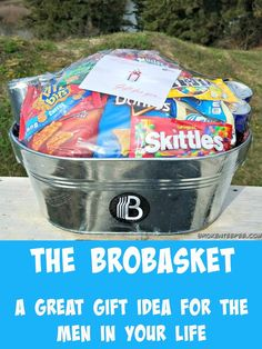 The BroBasket, men's gift idea, sponsored