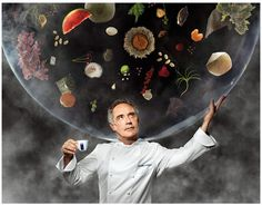 Famed Spanish chef Ferran Adrià, who owned the three-Michelin-star elBulli restaurant in Catalonia, is on the cover of the 2014 Lavazza calendar . The calendar features seven of the world's top chefs. Martin Schoeller, Cappuccino Maker, Cappuccino Coffee, Cappuccino Machine, Opening A Restaurant, Restaurant Owner, Coffee Shop Franchise, Chefs, Guide Michelin