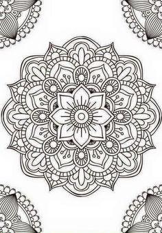 Mandala fleur simple unique doodle art doodle it. Mandalas Drawing, Mandala Coloring Pages, Dot Painting, Adult Coloring Pages, Coloring Books, Adult Colouring In, Easy Mandala Drawing, Leaf Drawing, Mandala Tattoo