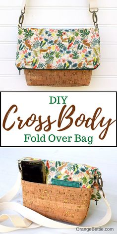 Cross Body Bag Sewing Tutorial on Bombshell Bling Cross Body Purse Patterns Free, Bag Patterns To Sew, Diy Purse Patterns Free, Sewing Patterns, Sewing Tutorials, Sewing Projects, Sewing Ideas, Bags Sewing, Craft Projects