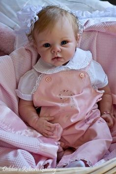Krista, by Linda Murray, Reborned by Debbie - Ooak-Baby Reborn-Baby - Toodler - Reborn Baby Girl, Reborn Babypuppen, Reborn Toddler Dolls, Newborn Baby Dolls, Reborn Dolls, Reborn Babies, Life Like Baby Dolls, Life Like Babies, Real Baby Dolls
