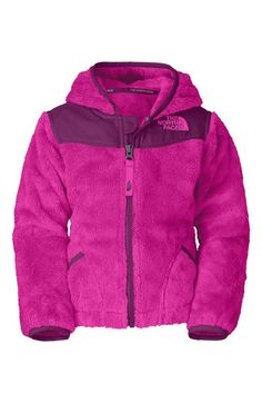 The North Face 'Oso' Hooded Fleece Jacket (Toddler Girls) available at #Nordstrom