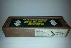 Vintage Rummy King Game Set Made in Israel Hand finished tiles