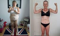 Grandmother, 51, displays her incredible transformation
