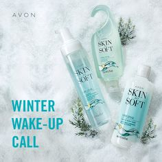 Skin So Soft Original Oil-Infused Foaming Body Wash Avon Skin So Soft, Oil Mix, Avon Rep, Avon Online, Wake Up Call, Natural Oils, Natural Beauty, Body Wash, Bath And Body