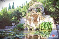 Fontanna w Arboretum Trsteno || http://crolove.pl/arboretum-w-trsteno/ || #Arboretum #Trsteno #Croatia #Chorwacja #Hrvatska #Garden #Travel #Summer