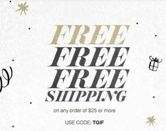 Use #couponcode TGIF and get #free shipping with your order of $25 or more at www.youravon.com/atodd. Expires midnight 11/18/16.   #Avon #freewithpurchase #skincare #makeup #mascara #wideawake #lipliner #glimmersticks #truecolor #eyeshadow #eyeliner #beyondcolor #lipstick #fall #beYOUtiful #fashion #bathandbody