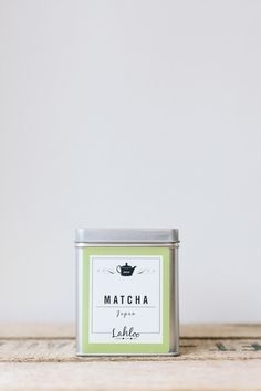 Matcha tea from Lahloo pantry. Photo by Rich Stapleton Tea Packaging, Paper Packaging, Packaging Design, Branding Design, Green Tea Plant, Matcha Green Tea, Cereal Magazine, Tea Box, Macaron