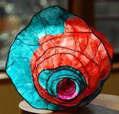 Resultado de imagen para reed and tissue paper sculpture diy