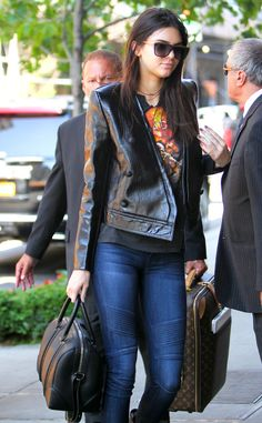 Kendall Jenner opts for a cute and casual look while out in NYC.