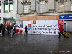 @siteaudits #MCR #fieldforce pleased to see new @McDonaldsUK opening  #PiccadillyGardens - now need #OOHdirectional