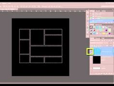 How To Make a Frame Overlay from a Template in Photoshop or PSE [Video] - Digital Scrapbooking Blog and scrapbook inspiration From DesignerDigitals