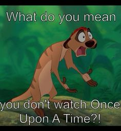 Once Upon a Time - ish. Love Disney