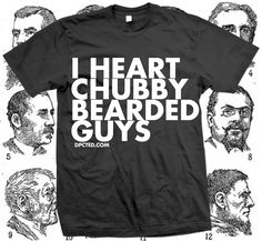 I Heart Chubby Bearded Guys