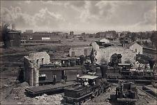 16x24 Poster; Railroad Roundhouse Atlanta, Georgia Post Civil War 1866