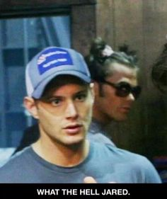 Only a true man could pull that off. You go Jared!