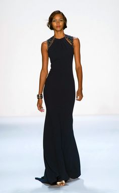 Badgley Mischka s/s 2014 New York FW
